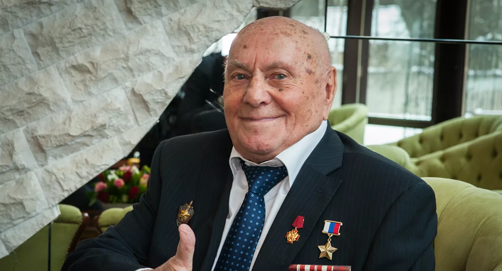 Hero of Russia Alexei Botyan, file photo.
