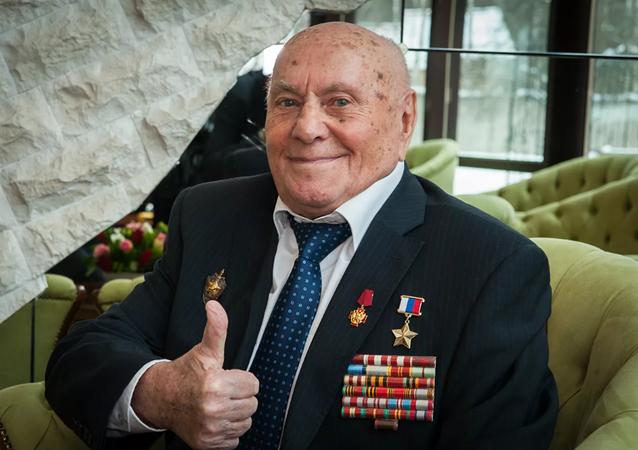 Hero of Russia Alexei Botyan, file photo.