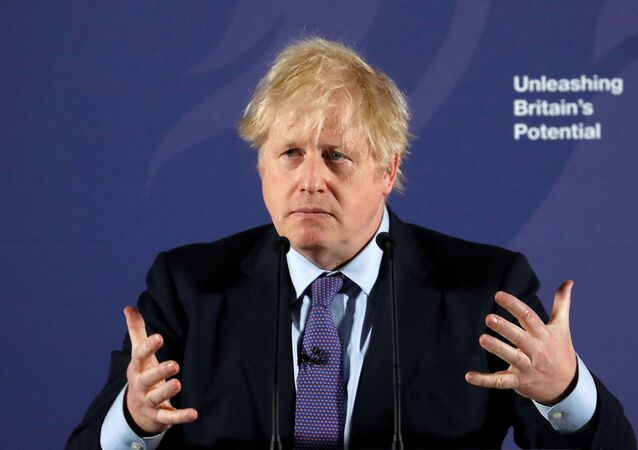 British Prime Minister Boris Johnson outlines his government's negotiating stance with the European Union