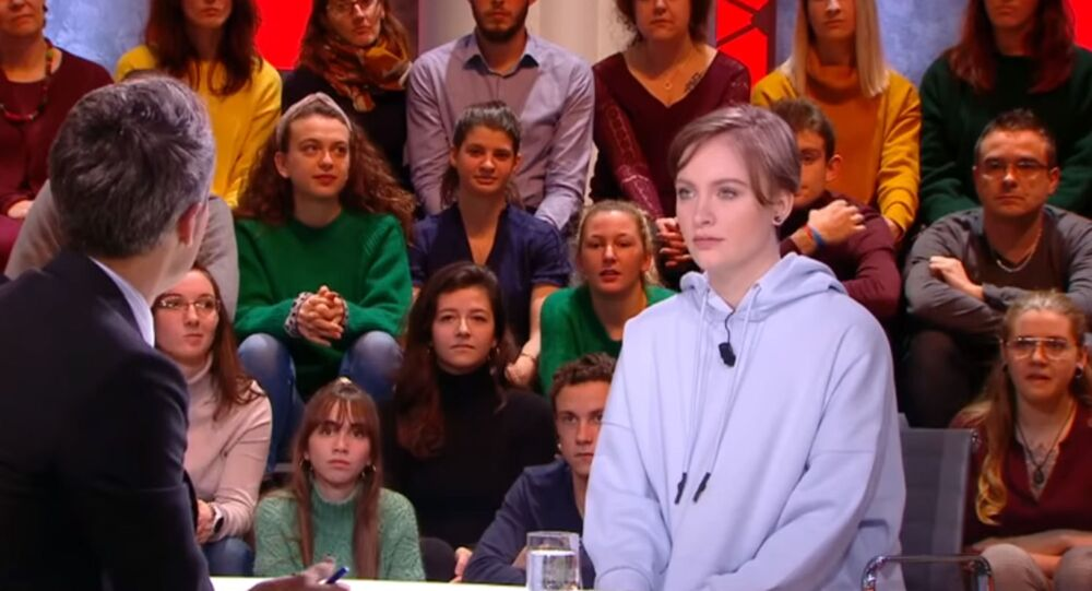 Mila speaks at the French talk show Quotidien on 3 February 2020.