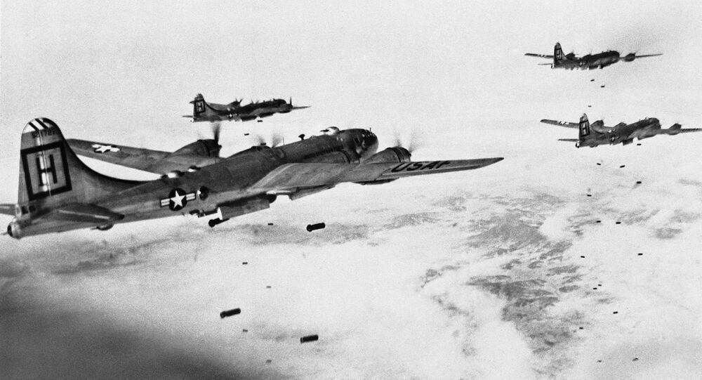 B-29 Superfortress bombers, file photo.