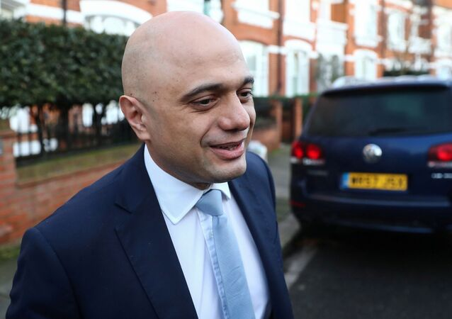 Former Chancellor of the Exchequer Sajid Javid leaves his home in London, Britain February 14, 2020.
