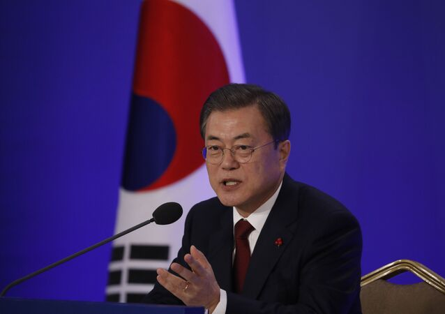 South Korean President Moon Jae-in on January 14, 2020