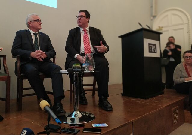 Andrew Wilkie MP and Chris George Christensen MP