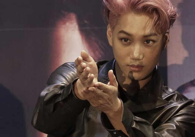 South Korean-Chinese boy group EXO member Kai