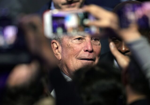 Democratic presidential candidate and former New York City Mayor Michael Bloomberg
