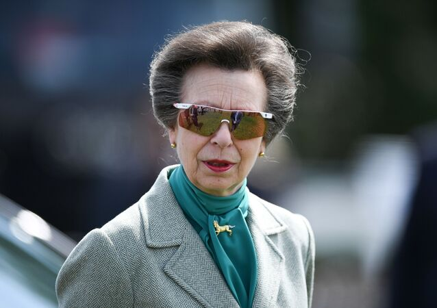 Britain's Princess Anne, Princess Royal, attends the annual Royal Windsor Horse Show in Windsor, west of London, on May 10, 2019