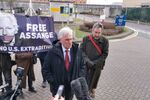 John McDonnell and John Rees press conference HM Belmarsh