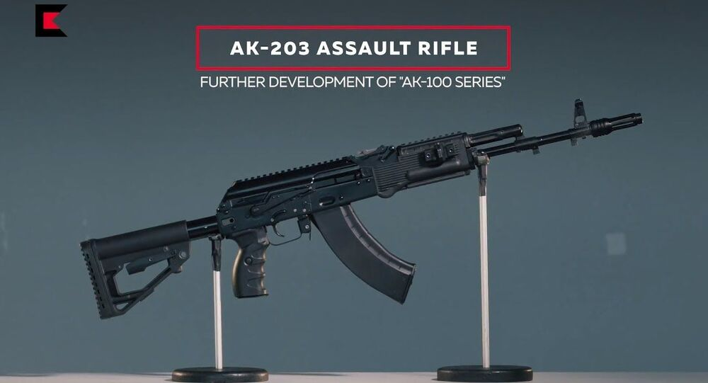 AK-203 Assault Rifle