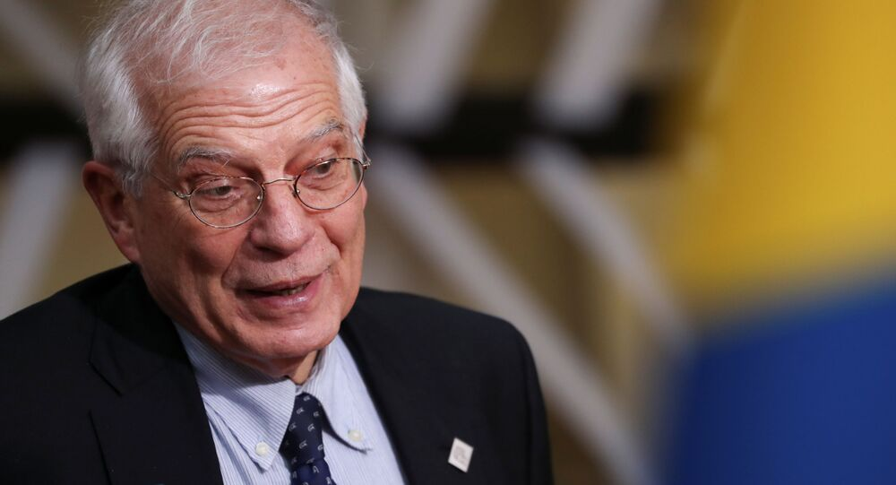 Josep Borrell, High Representative for Foreign Affairs and Security Policy in Brussels, Belgium