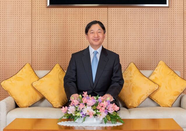 Japan's Emperor Naruhito poses for a photo at their residence in Tokyo, Japan, February 12, 2020, ahead of the Emperor's 60th birthday on February 23, in this handout photo provided by the Imperial Household Agency of Japan.