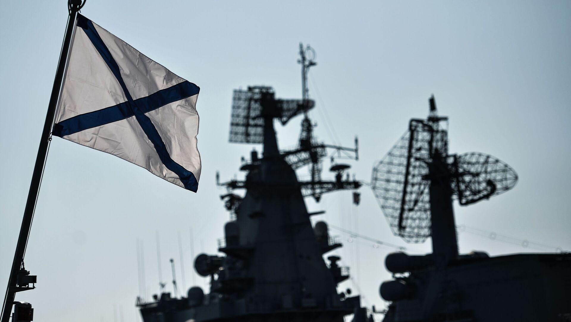 Radar systems aboard vessels of the Russian Black Sea Fleet as they dock in their home base in Sevastopol. - Sputnik International, 1920, 05.08.2021