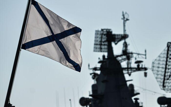Radar systems aboard vessels of the Russian Black Sea Fleet as they dock in their home base in Sevastopol.