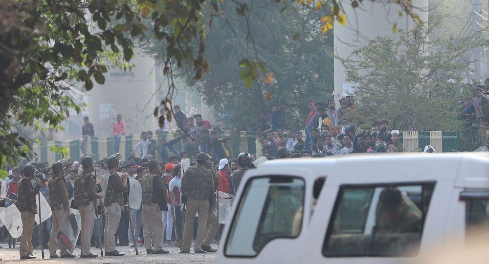 Protests in Delhi