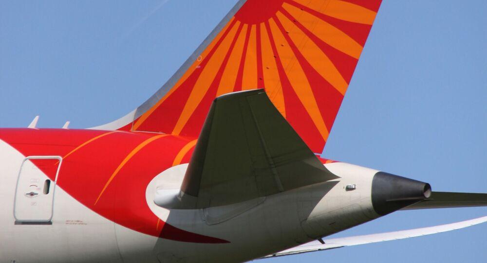 VT-ANL Boeing 788 Air India Tail