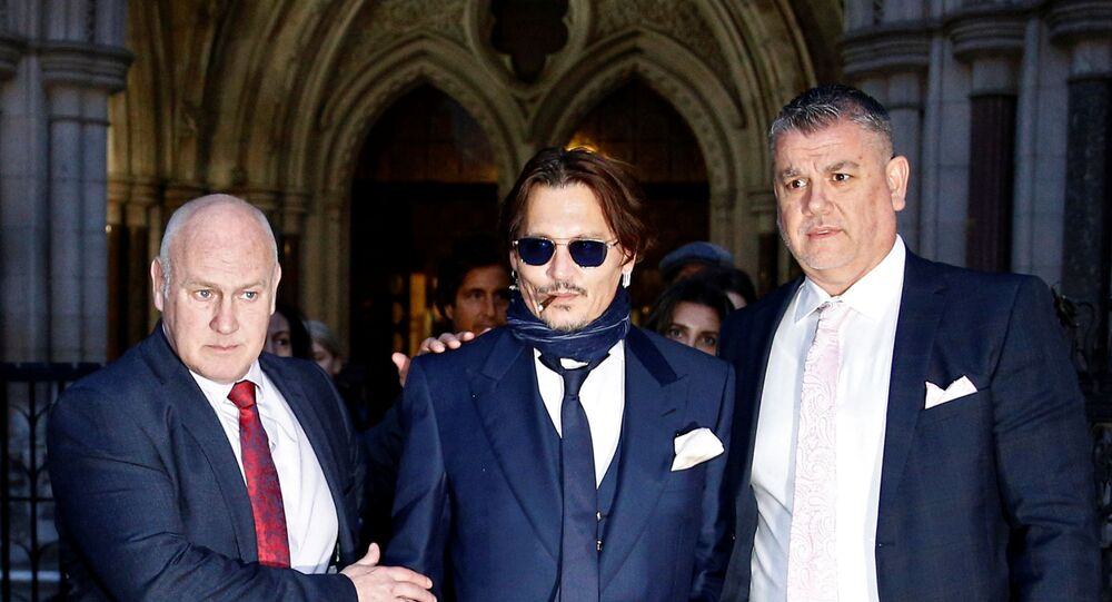 Johnny Depp appears in court for libel case
