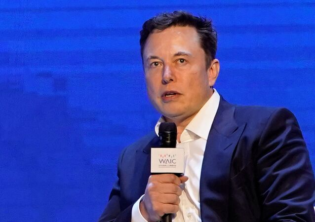 Tesla Inc CEO Elon Musk attends the World Artificial Intelligence Conference (WAIC) in Shanghai, China August 29, 2019.