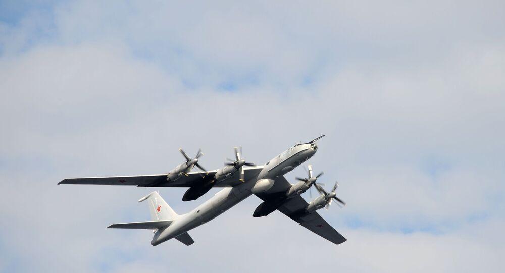 Russian Tu-142 (ASW) aircraft on 27 July 2014