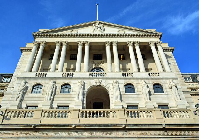 Front of the Bank of England