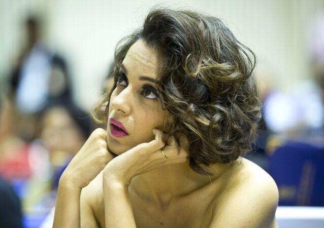 Indian actress Kangana Ranaut