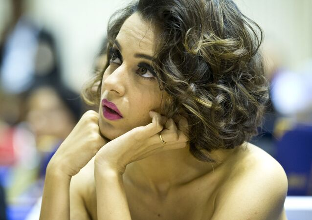 Indian actress Kangana Ranaut