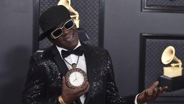 Flavor Flav arrives at the 62nd annual Grammy Awards at the Staples Center on Sunday, Jan. 26, 2020, in Los Angeles - Sputnik International