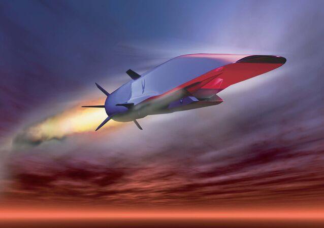 X-51A Waverider demonstrating hypersonic flight