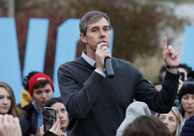 Democratic presidential candidate Beto O'Rourke in Des Moines, Iowa