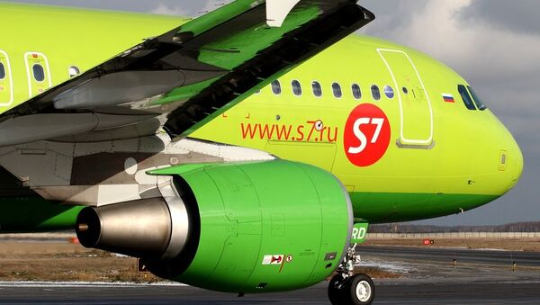 Airbus A320-214, S7 - Sputnik International