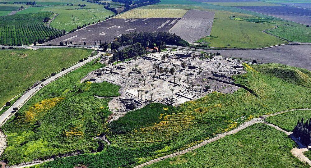 Tel Megiddo, northern Israel