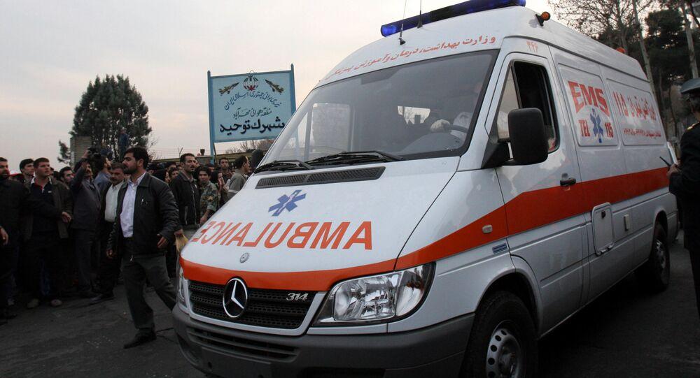 Iranian ambulance