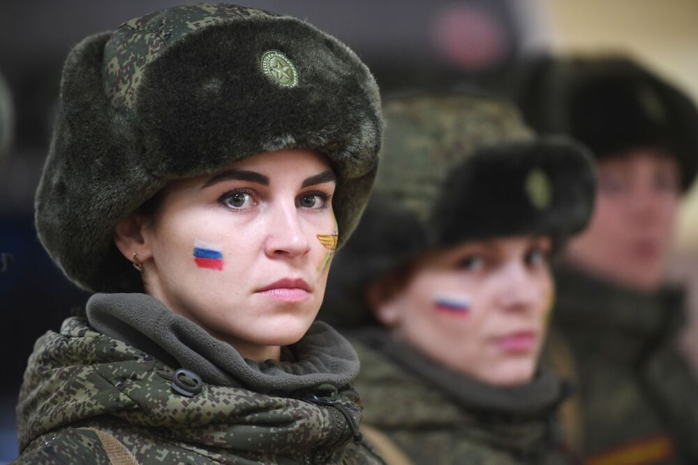 Camouflage Ladies: Military Beauty Pageant in Russia