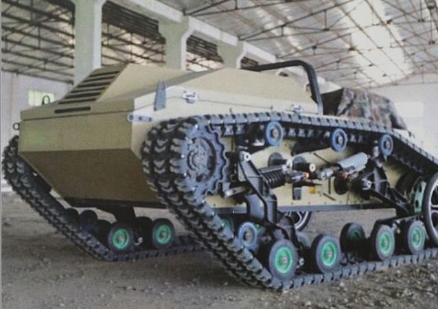 Mule-200 Unmanned Ground Vehicle