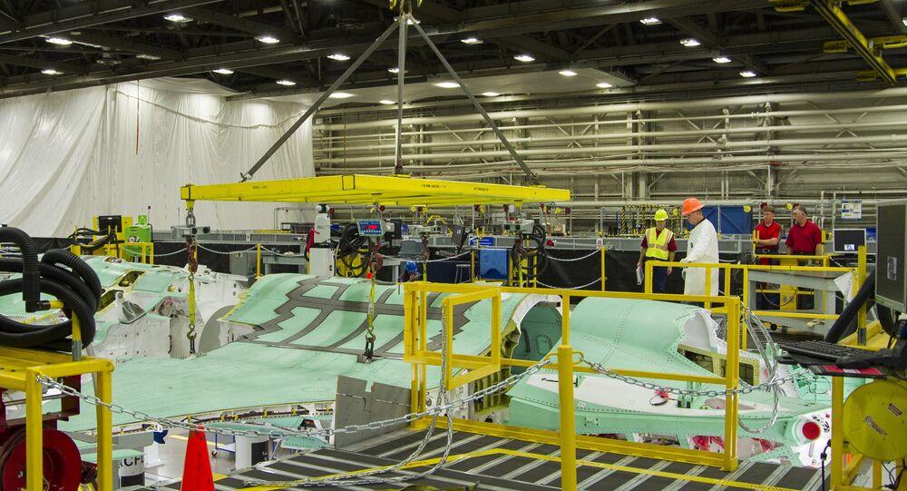 Lockheed Martin F-35 Assembly. File photo.