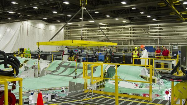 Lockheed Martin F-35 Assembly. File photo. - Sputnik International