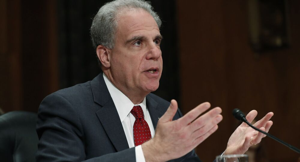 Department of Justice Inspector General Michael Horowitz on Capitol Hill in Washington