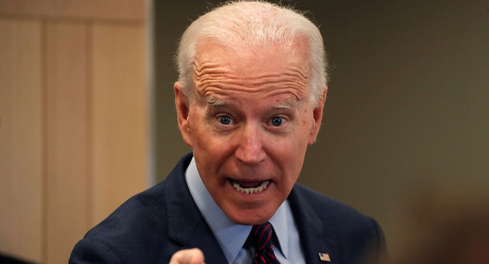 Democratic U.S. presidential candidate and former Vice President Joe Biden speaks during a campaign stop in Los Angeles, California, U.S., March 4, 2020