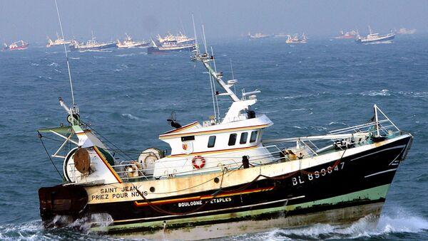 French fishing boats (File) - Sputnik International