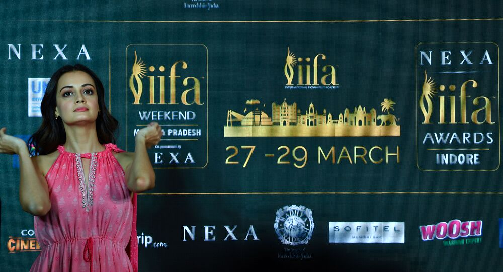 In this photo taken on March 4, 2020, Bollywood actor Dia Mirza attends the International Indian Film Academy (IIFA) press Conference for the 21st Edition of NEXA IIFA Weekend & Awards 2020, in Mumbai