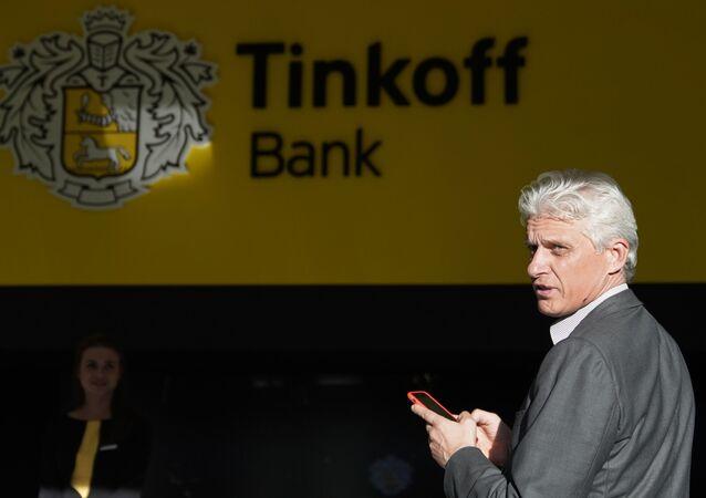 Russian banker Oleg Tinkov