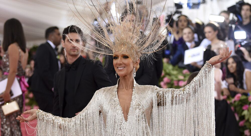 Celine Dion attends The Metropolitan Museum of Art's Costume Institute benefit gala celebrating the opening of the Camp: Notes on Fashion exhibition on Monday, May 6, 2019, in New York