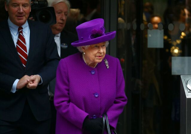 Britain's Queen Elizabeth leaves the new premises of the Royal National ENT and Eastman Dental Hospitals in London, Britain February 19, 2020.
