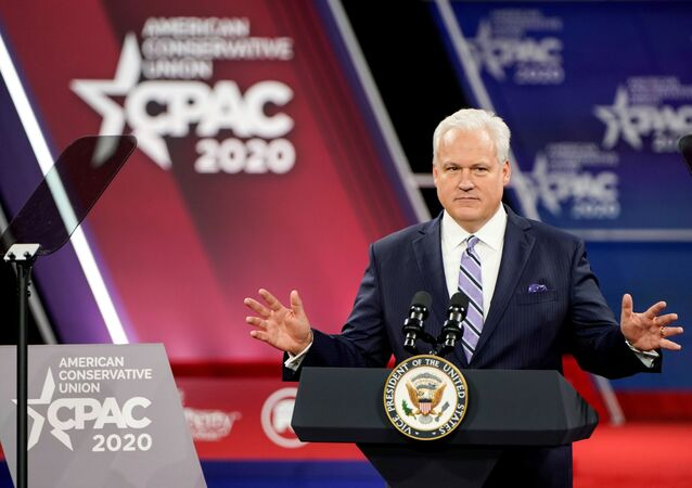Matt Schlapp at the Conservative Political Action Conference annual meeting at National Harbor in Oxon Hill, Maryland