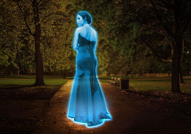 Ghost hologram