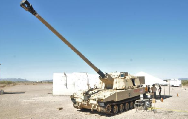 ERCA Autoloader is being tested for first time at Yuma Proving Ground