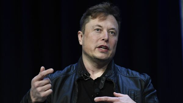 Tesla and SpaceX Chief Executive Officer Elon Musk speaks at the SATELLITE Conference and Exhibition in Washington, Monday, March 9, 2020. - Sputnik International