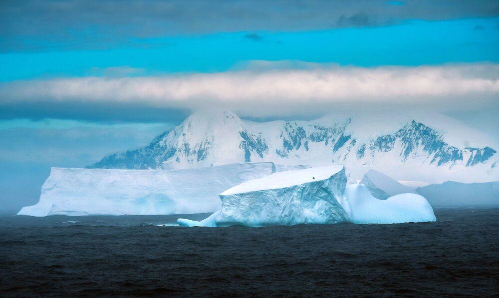 Cape Mascar on Adelaide Island in Antarctica.
