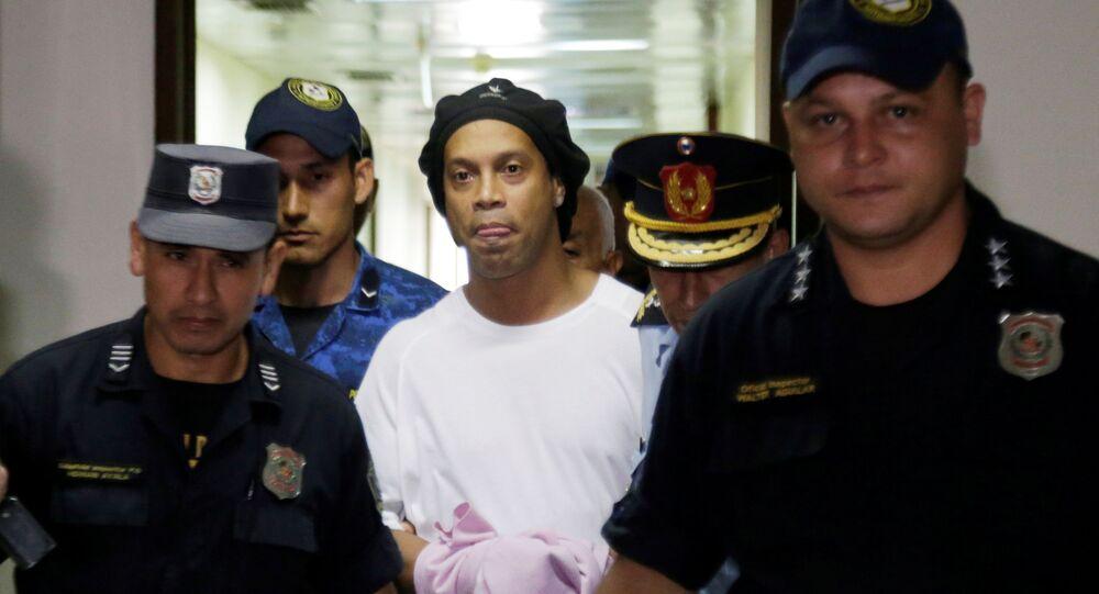 Judge rules Ronaldinho must remain in Paraguayan jail - Paraguayan Supreme Court, Asuncion, Paraguay - 7 March 2020