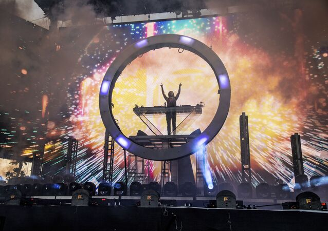 Zedd performs at the Coachella Music & Arts Festival