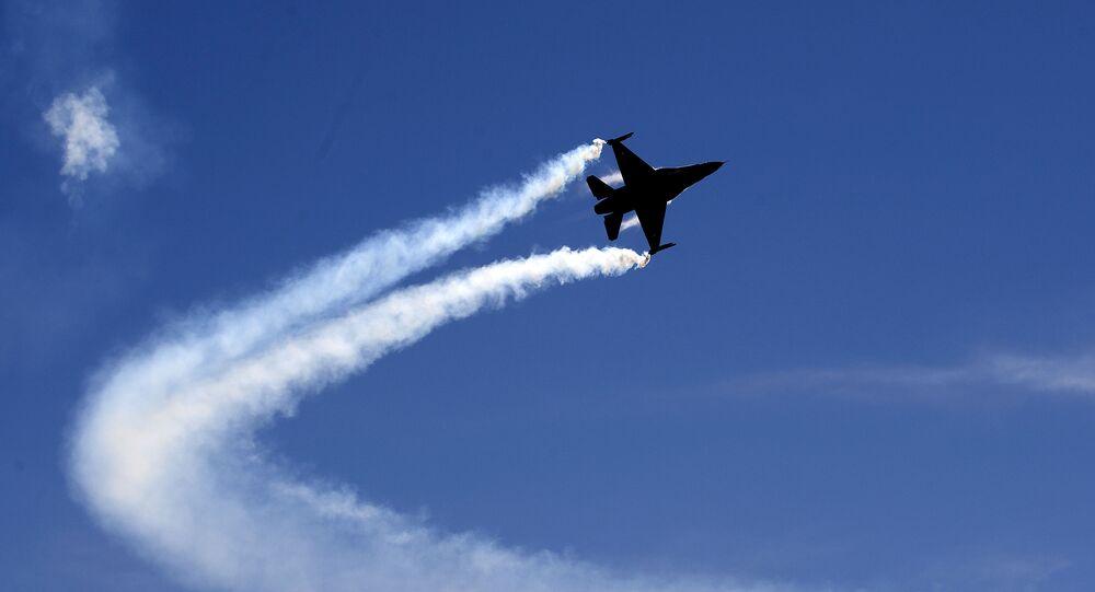 Pakistani Air Force F-16 fighter jet (File)